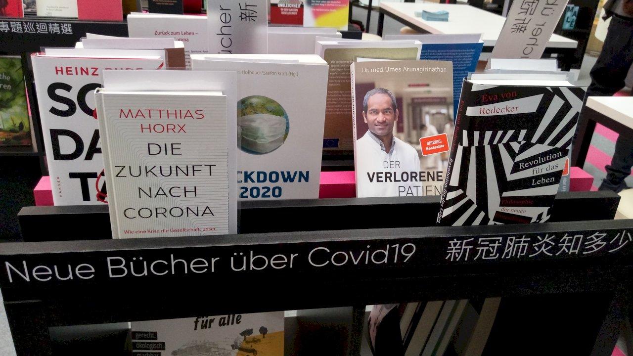 德作家疫情下狂出書 德國故事書展在台揭幕