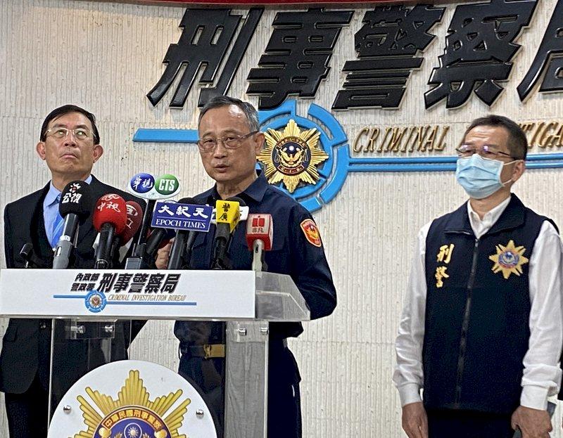 重大刑案頻傳 警政署長宣示計畫性掃蕩