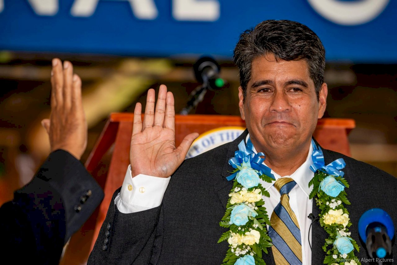 駐台大使證實 帛琉總統惠恕仁將訪台