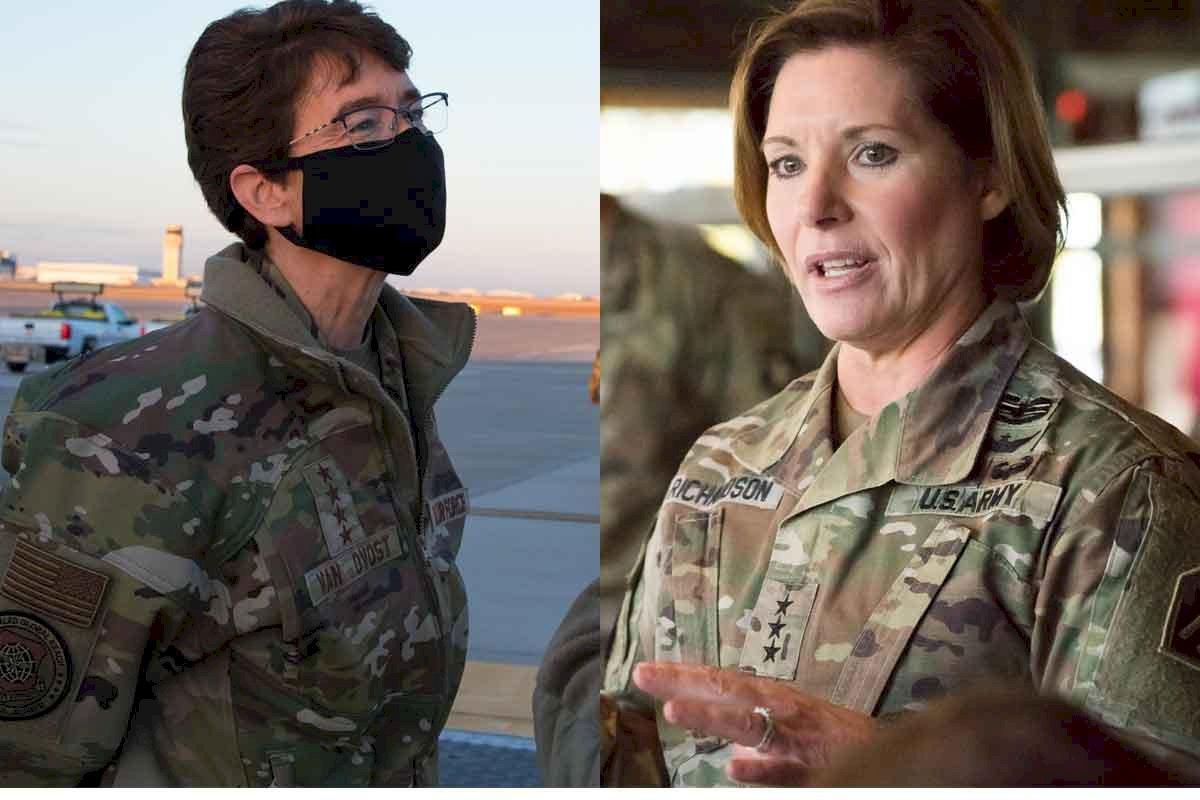 拜登提名兩女性將領 接掌美軍兩大司令部