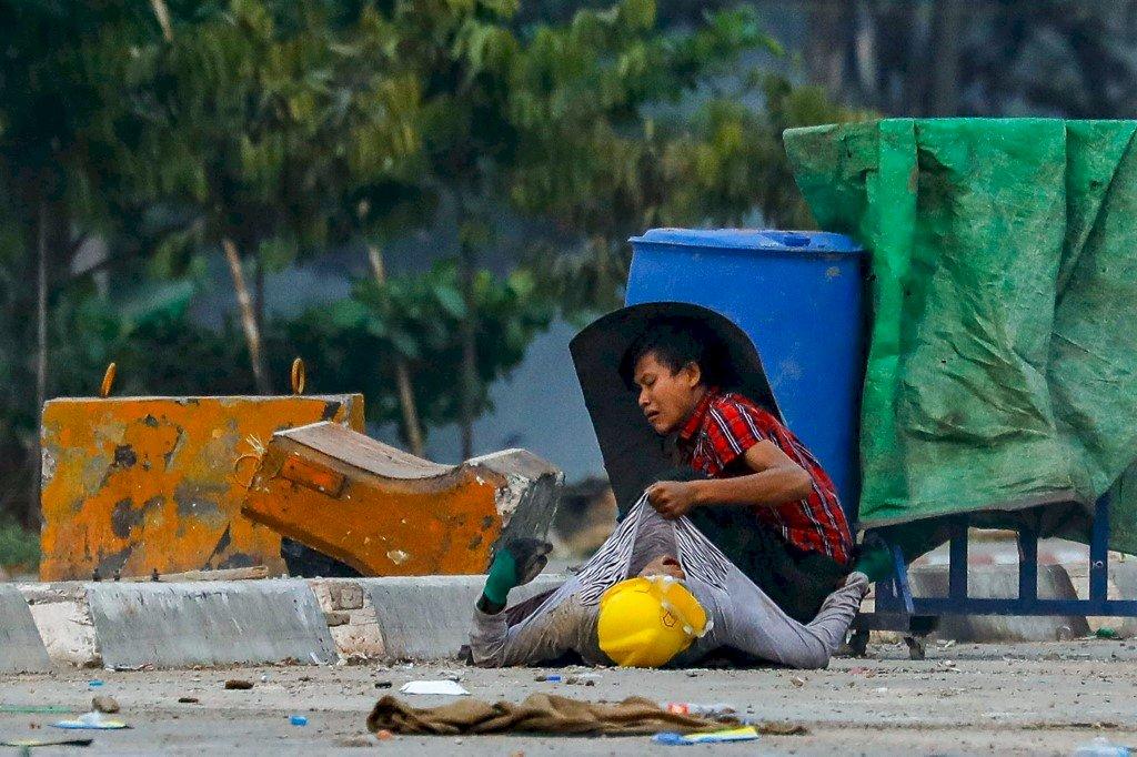 緬甸政變至今 逾800人遭安全部隊殺害