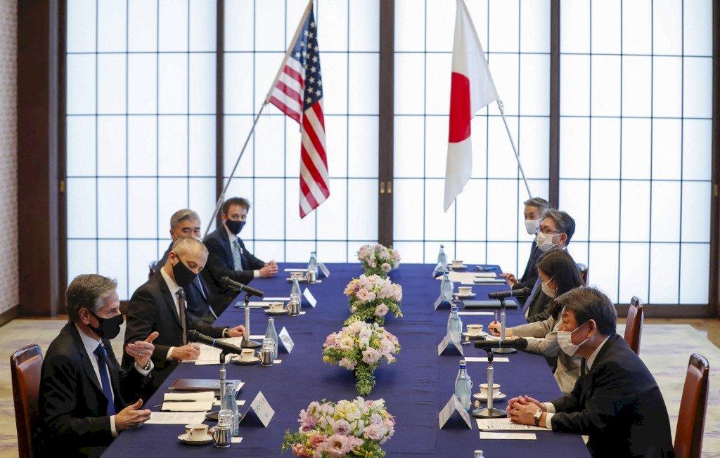 美日外長防長聯合聲明 反對中國破壞穩定行為