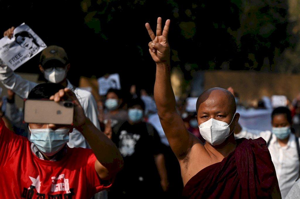 力求恢復民主 緬甸反軍方統治者成立全國團結政府