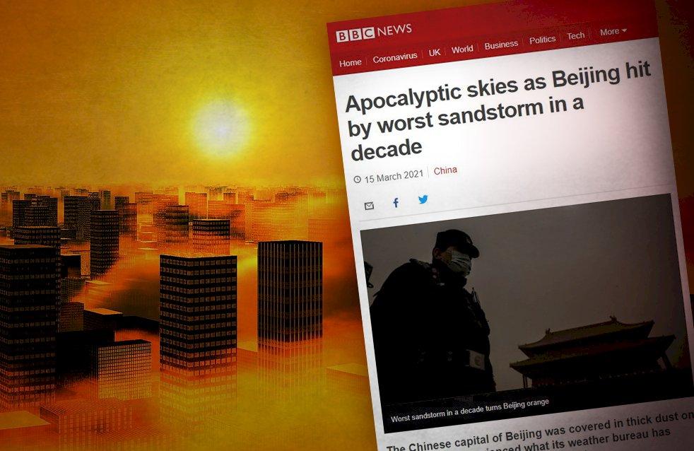 都是別人的錯!沙塵暴是環境治理失靈 中共卻導引輿論暗示外媒才是「災害」