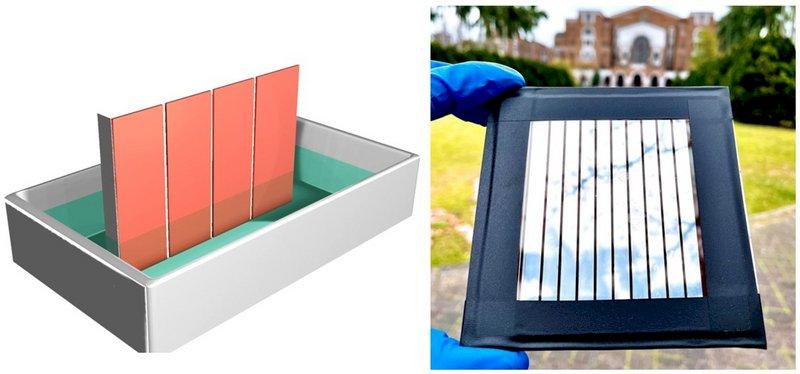 鈣鈦礦太陽能電池模組製程瓶頸  台大獲突破