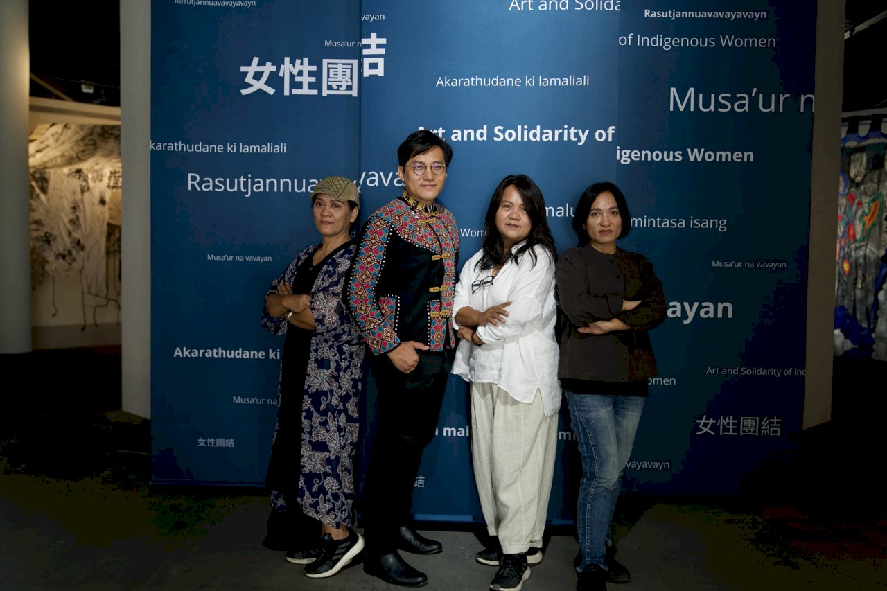 「女性團結」聯展台英線上線下同步開展   走進原民女性藝術家視界