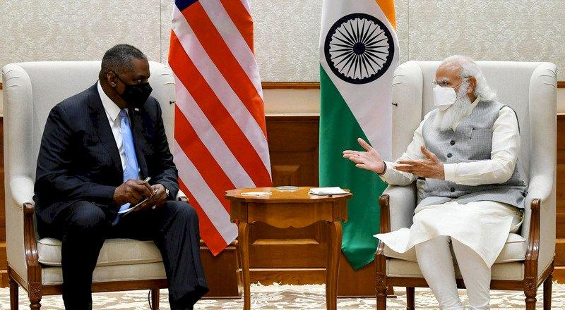 莫迪與美防長會晤  強化印美國防與戰略夥伴關係