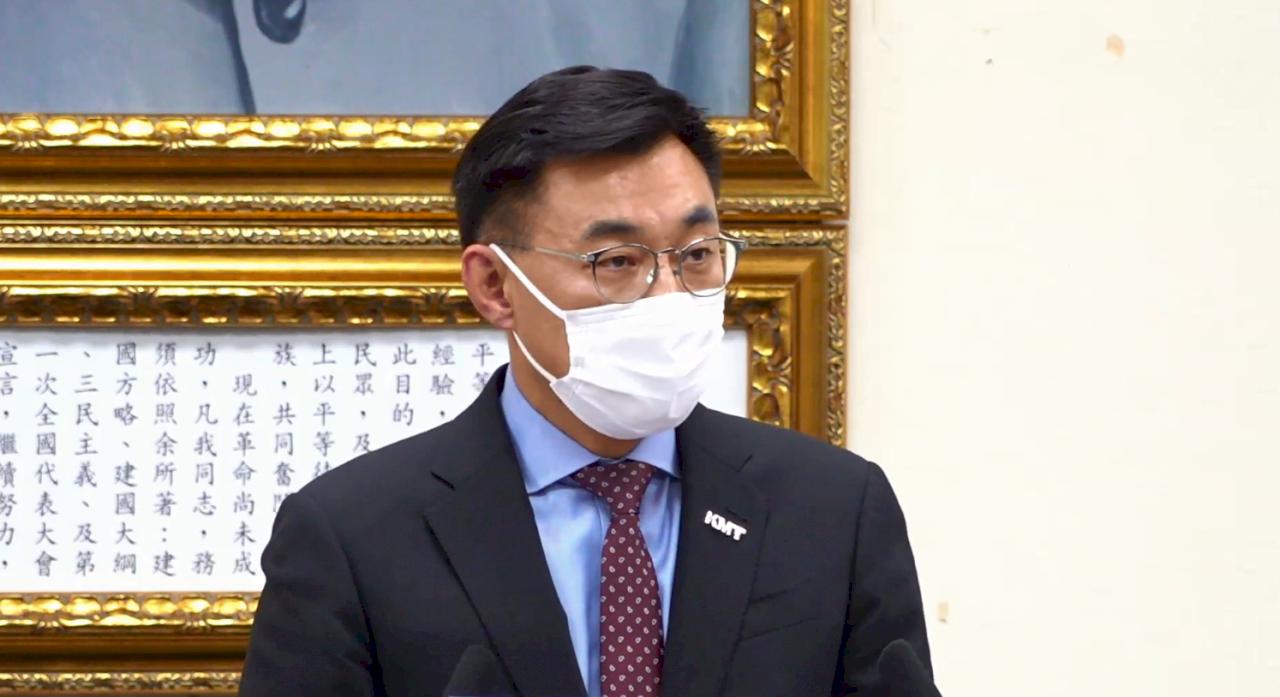 江啟臣:國民黨的兩岸政策  絕不是只有九二共識