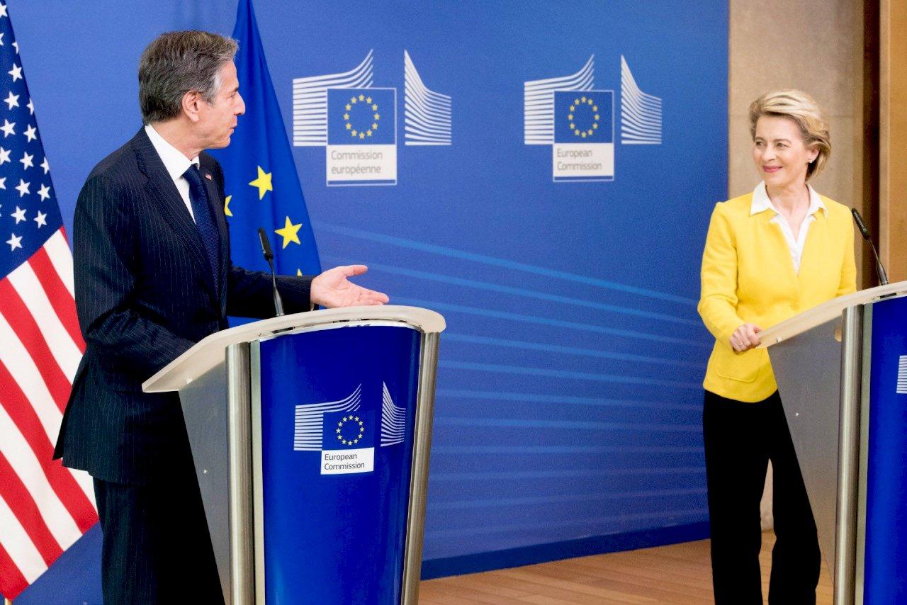 對抗北京挑戰 美歐宣布重啟中國議題對話機制