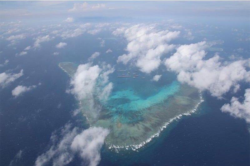 中國船隻集結牛軛礁 強勢表述「我在就是我的」