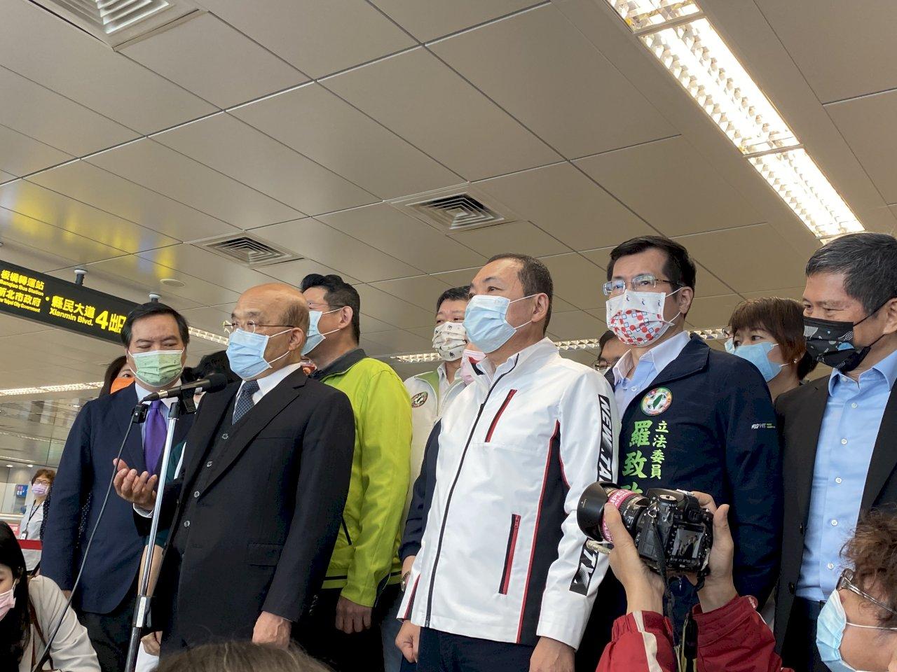 新疆棉人權問題 蘇揆:台灣為受壓迫的人發聲
