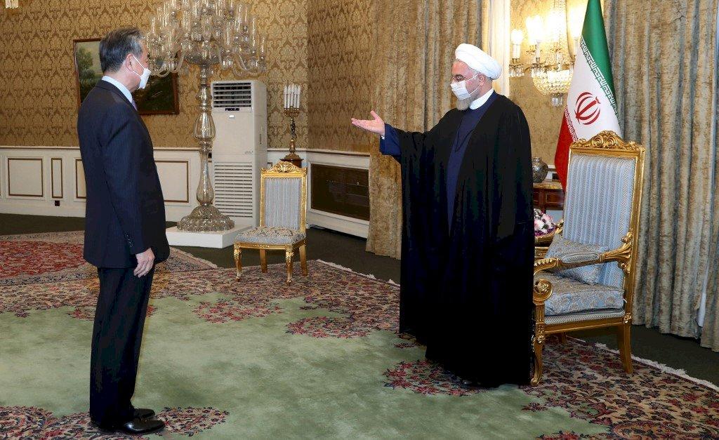 伊朗與中國加深合作 將簽訂為期25年合作協議