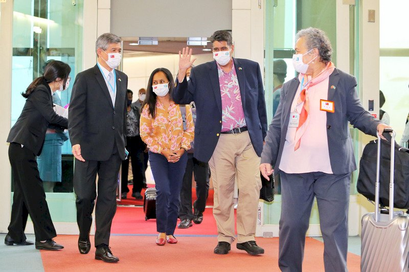 帛琉總統今抵台訪問  指揮中心:動線分流 加強防疫