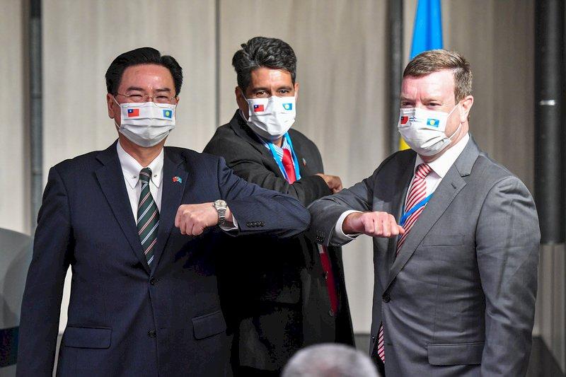 美駐帛琉大使訪台 中方扯「台獨」