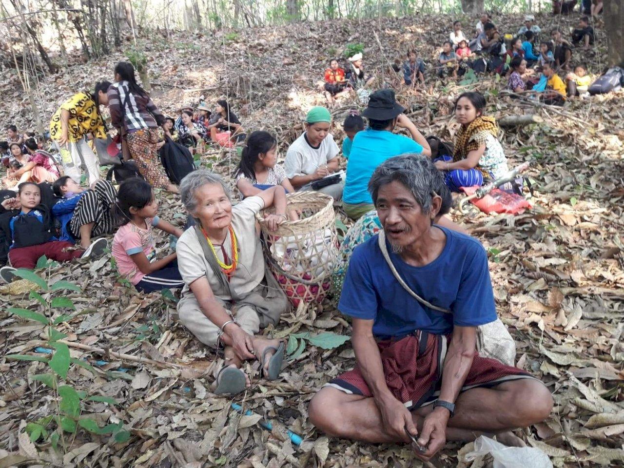 緬軍空襲少數民族區 千餘人越過邊境逃往泰國