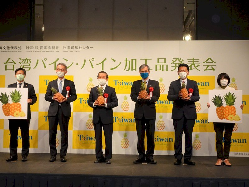 台灣鳳梨知名度暴漲 日本超市業者生意旺旺來