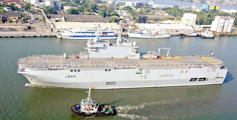 法海軍戰鬥群抵印度洋 參與四方安全對話國軍演