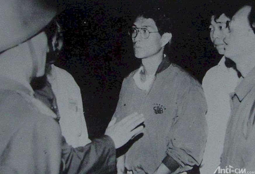 我的一九八九系列》救上千學生 周舵侯德健與解放軍戒嚴部隊接觸談判