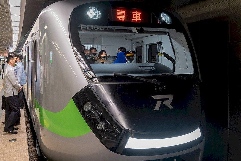 史上最美區間車 台鐵EMU900通勤電聯車4/1首航(影音)