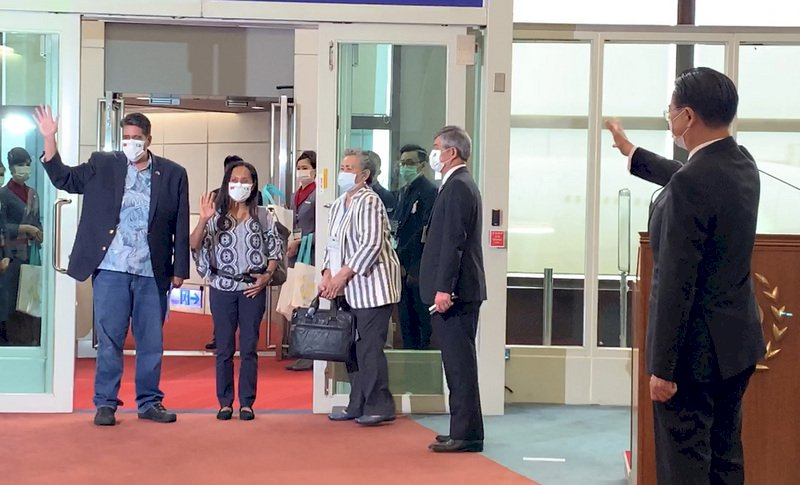 帛琉總統訪台行落幕 外交部:雙邊關係更堅穩