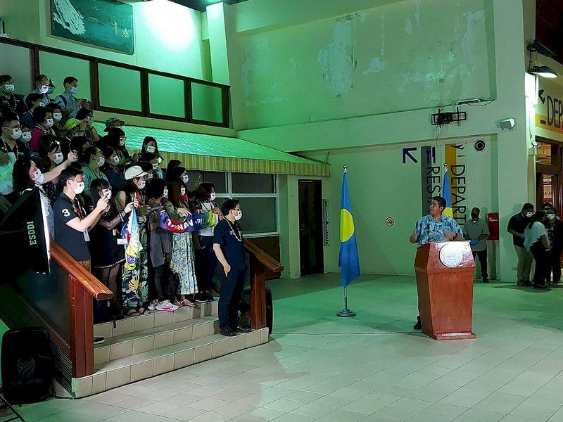 帛琉總統讚台帛旅遊泡泡珍貴 如疫情中一道光芒