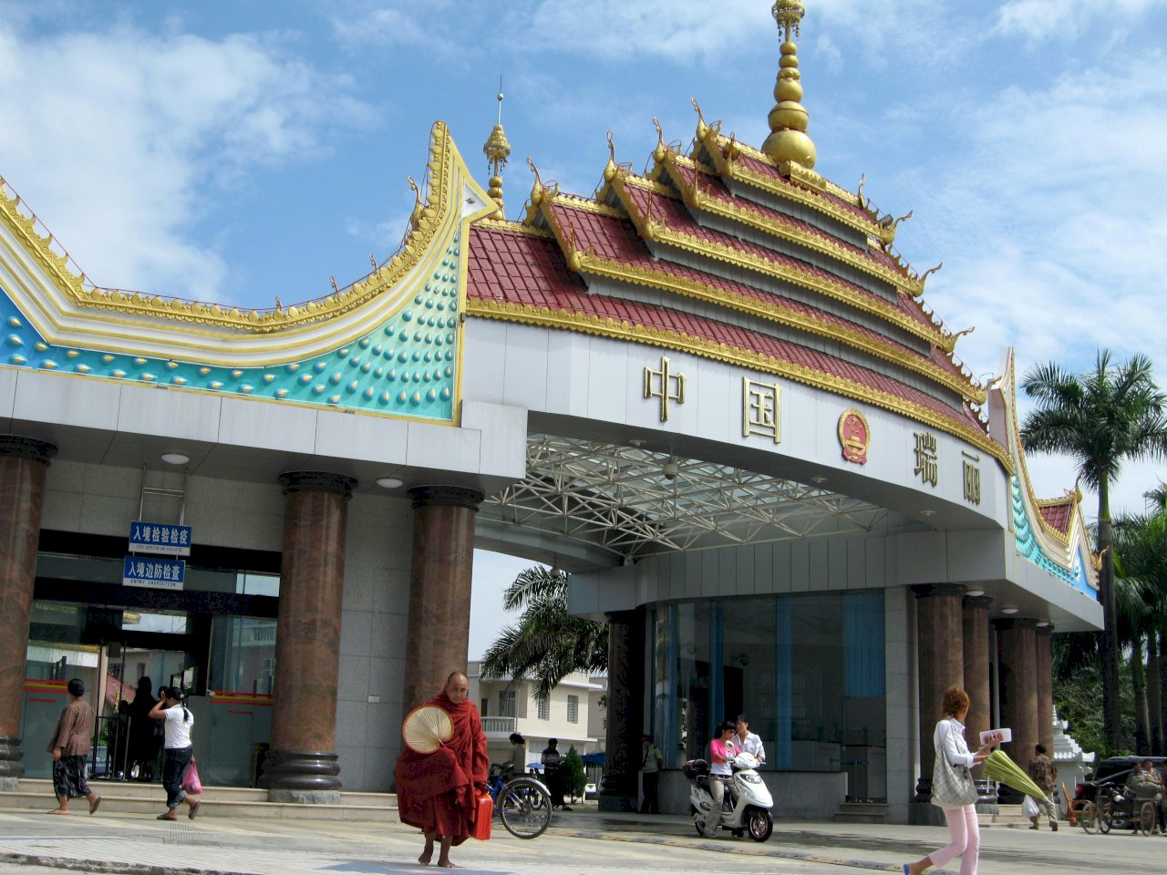 中緬邊界城市瑞麗 通報更多COVID-19病例