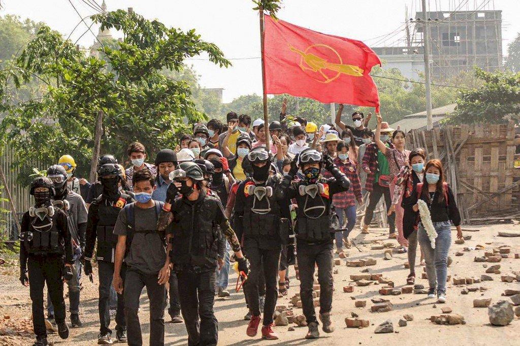 俄羅斯警告 制裁緬甸可能引發「全面內戰」