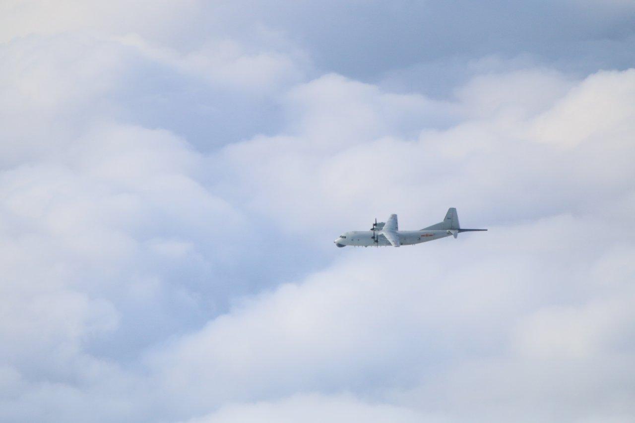 共軍1架運8擾台ADIZ  空軍派遣兵力應對