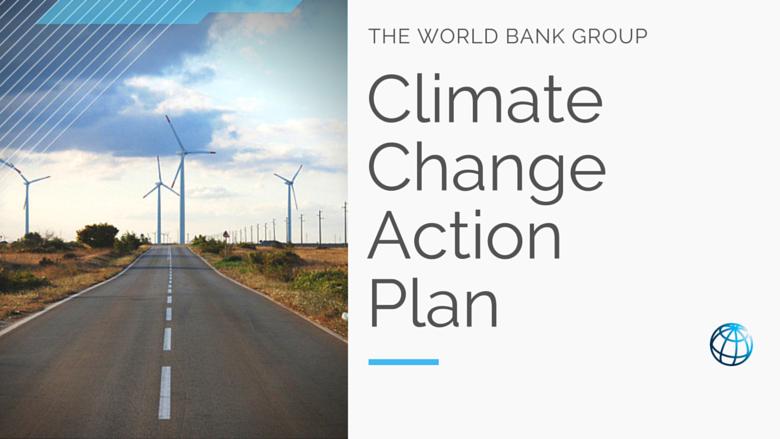 世銀公布氣候變遷新行動計畫 助開發中國家減排