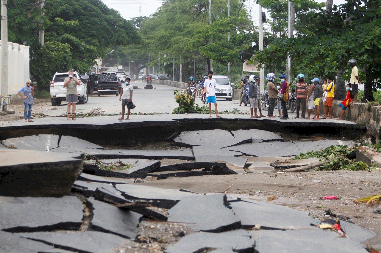 豪雨加氣旋 印尼與東帝汶近百人死亡、數十人失蹤