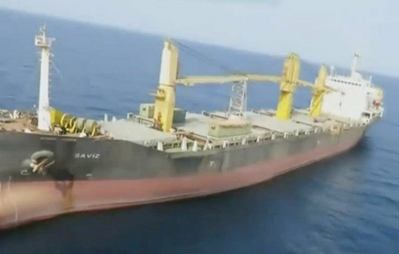 伊朗貨輪紅海遭水雷攻擊 報導指以色列涉嫌