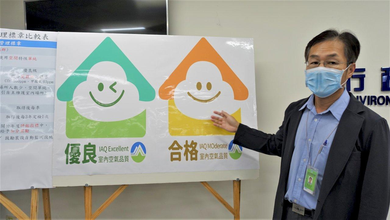 環保署暫停公告納管中小型場所空品 改推自主管理標章