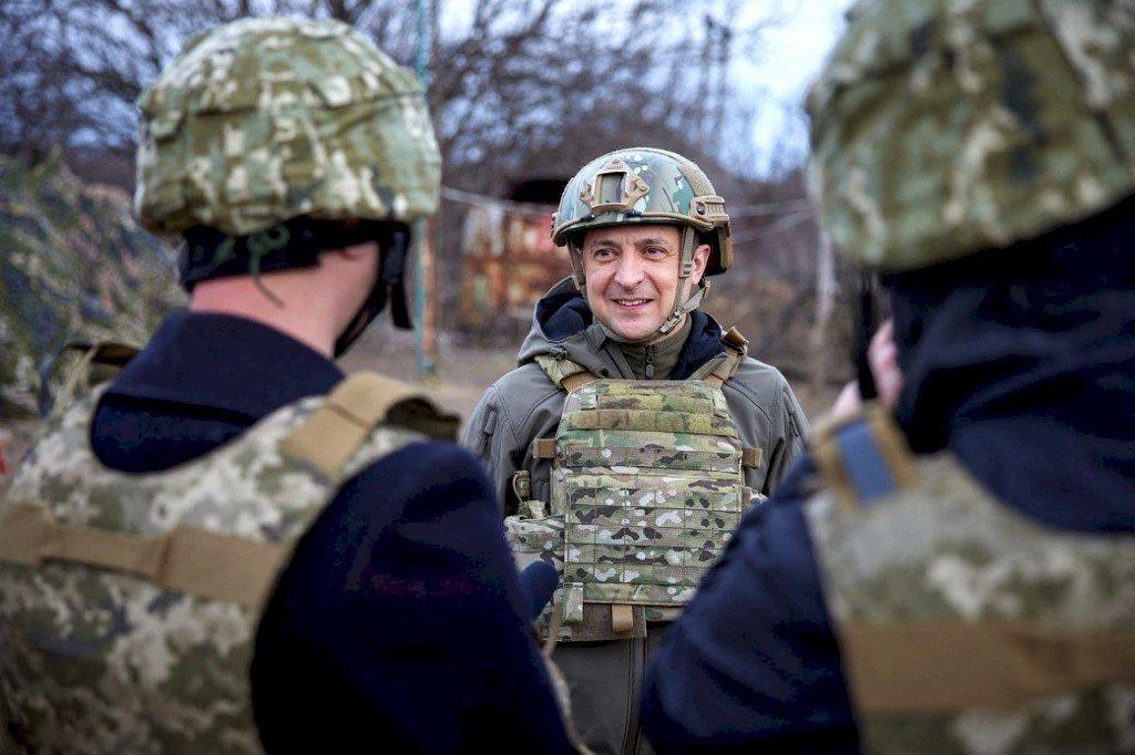 與俄羅斯全面開戰 烏克蘭總統:最糟的可能