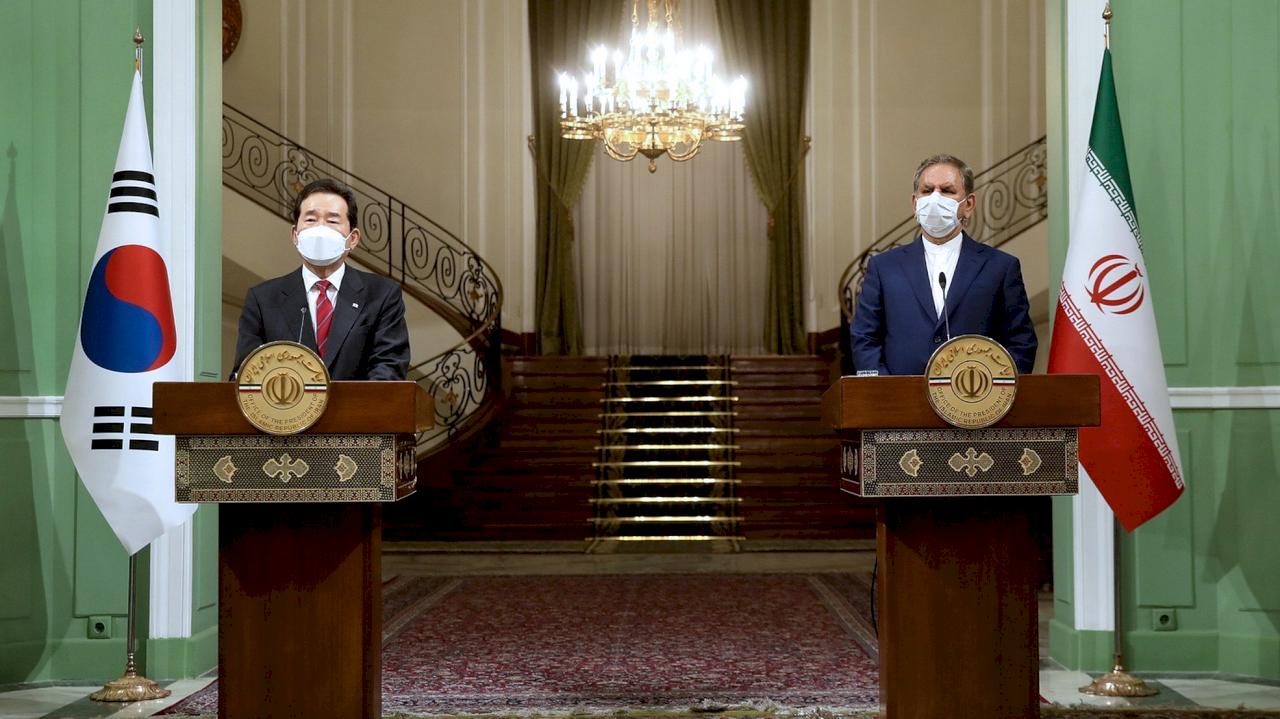 南韓總理44年來首訪伊朗 助恢復伊朗核子協議