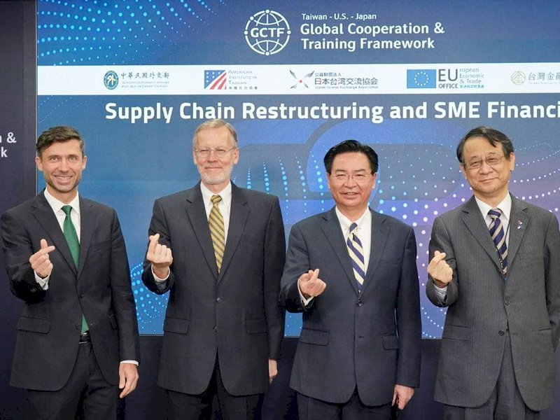 供應鏈重組研討會 AIT:與台灣建立堅實牢固夥伴關係