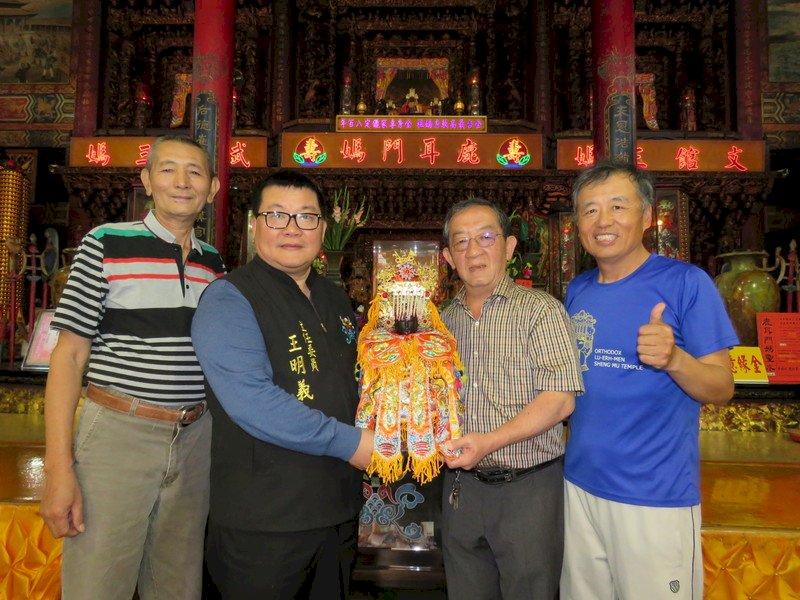 向老天祈雨!台南聖母廟開基媽祖將繞跑日月潭