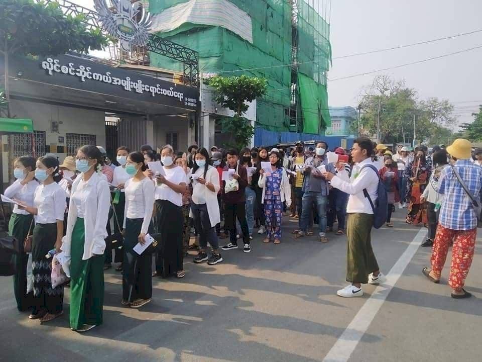 緬甸新年假期不安 士兵對醫護示威活動開槍