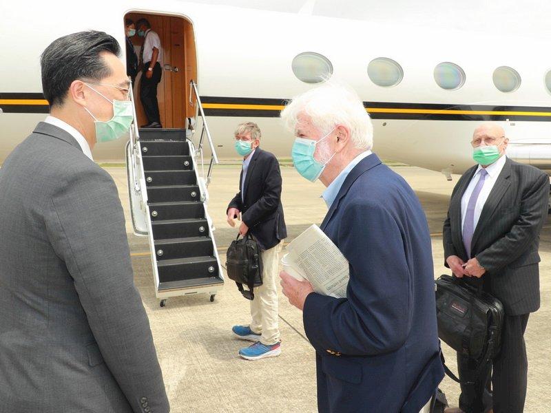 外交部:陶德訪台成果豐碩 深化台美緊密夥伴關係
