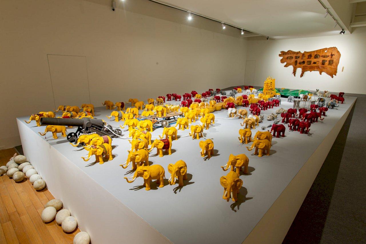 北美館「大遷徙:盧明德」個展 梳理藝術家50年創作歷程