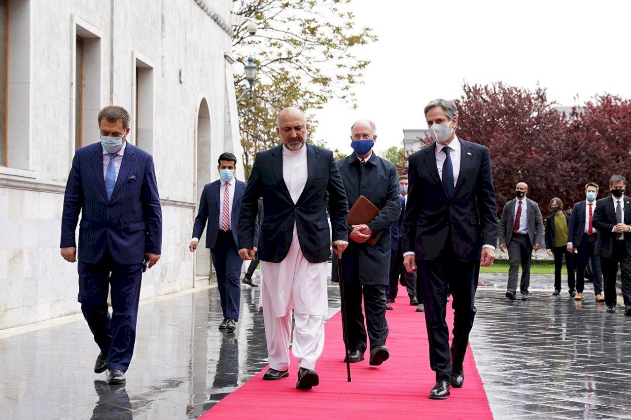 布林肯到訪阿富汗 展現對阿富汗政府支持