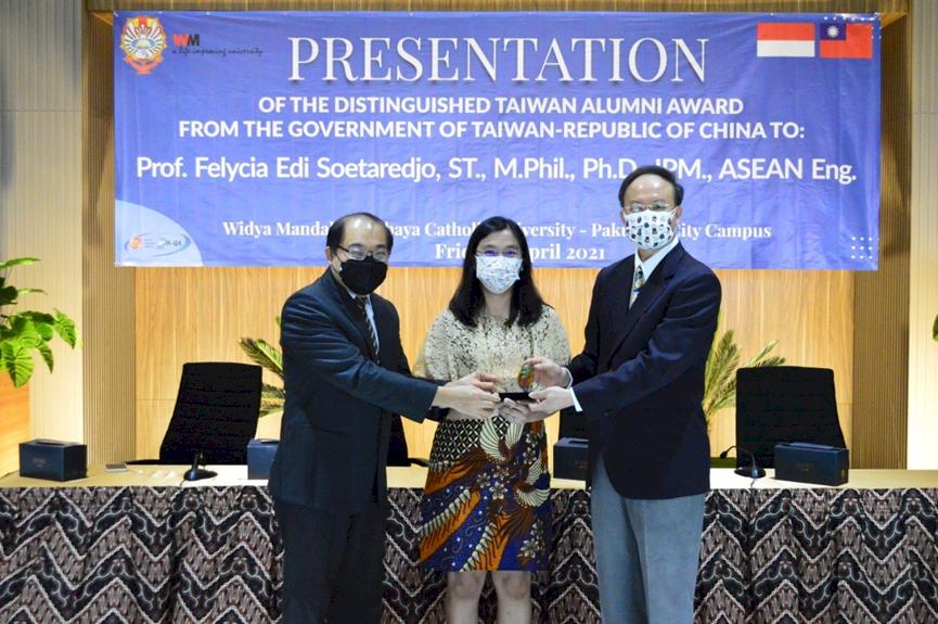 第二屆全球留台傑出校友獎 5位政界學界人士獲殊榮