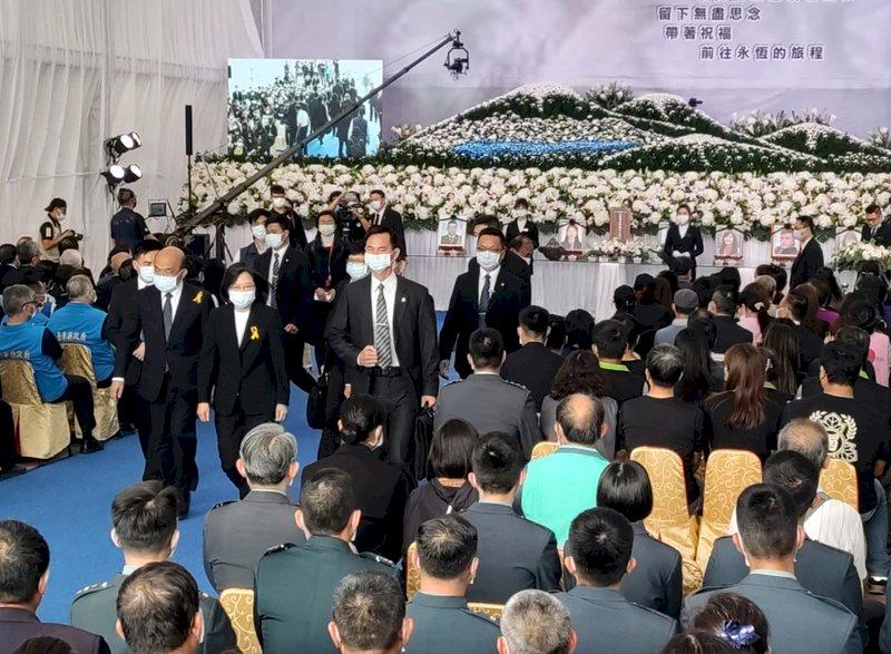 太魯閣號事故台東公祭  蔡總統和蘇貞昌致哀