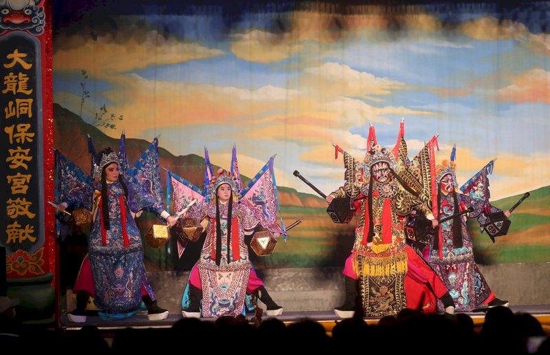 保生文化祭登場 總統:文化資產是民間外交典範