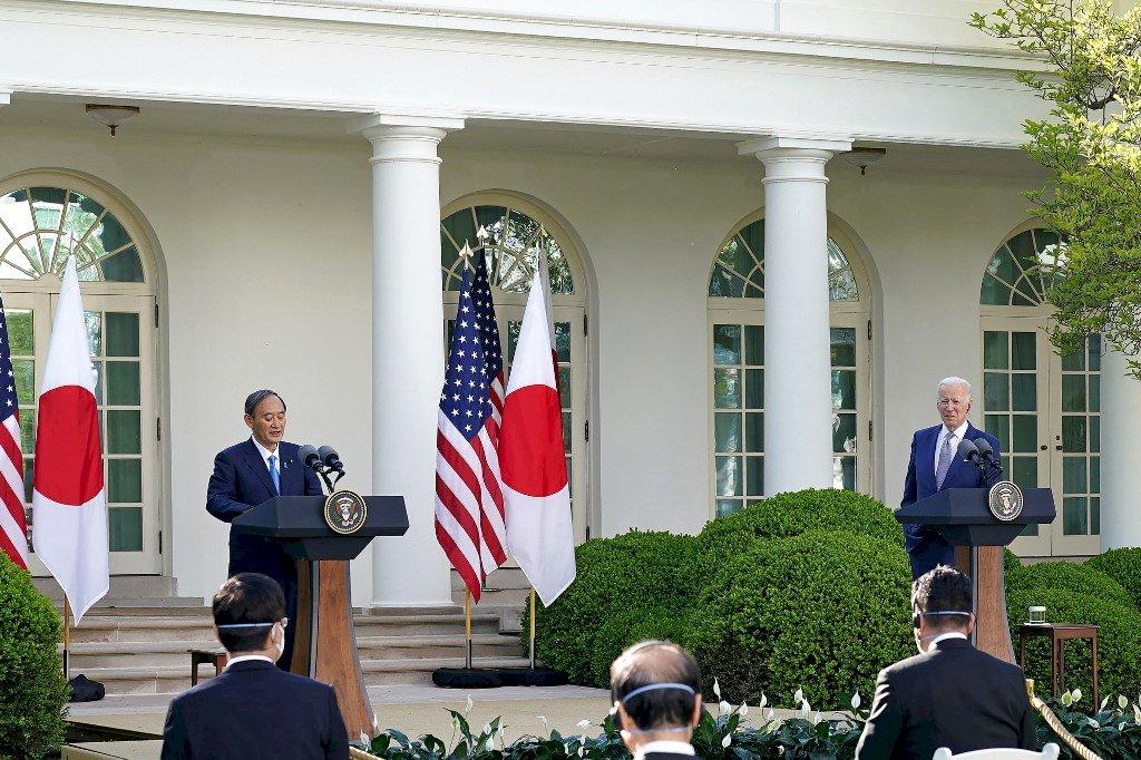 美日峰會重視台海穩定 日媒:日本角色變得更大