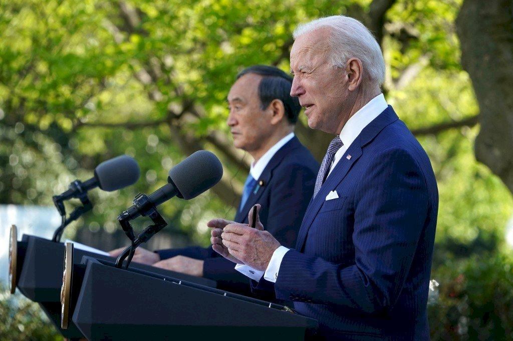 美日白宮高峰會 重申台海和平穩定重要性