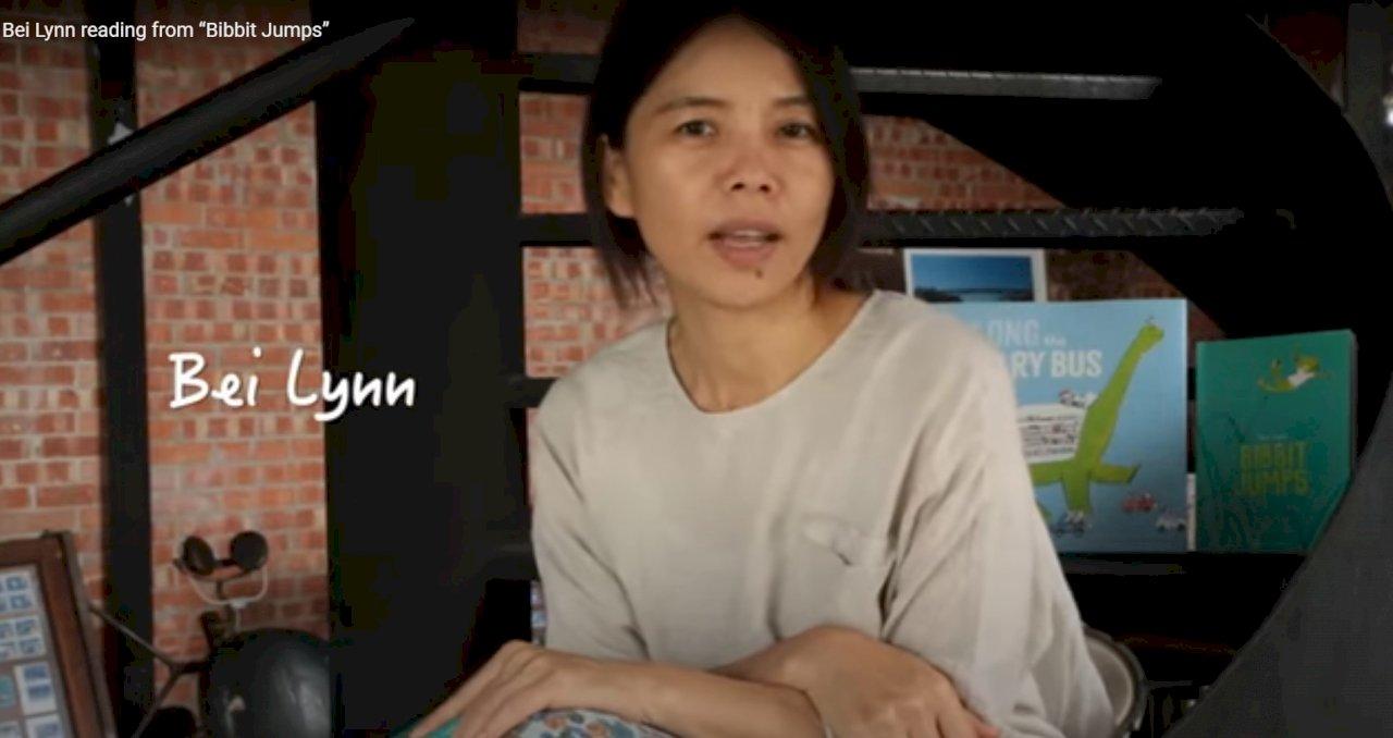 洛杉磯時報書展 台灣繪本作家林小杯線上說故事