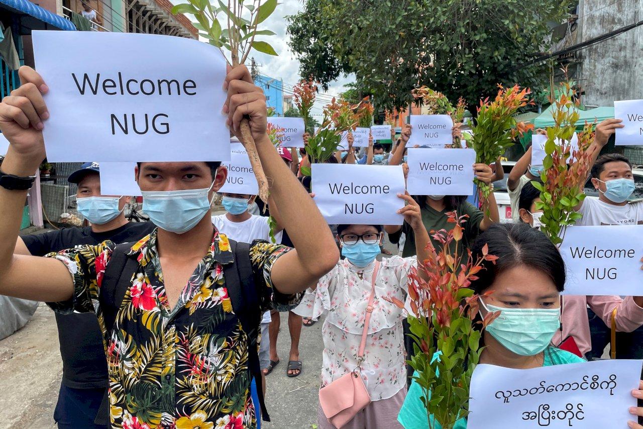 緬甸政變將滿6個月 疫情下民眾持續抗爭
