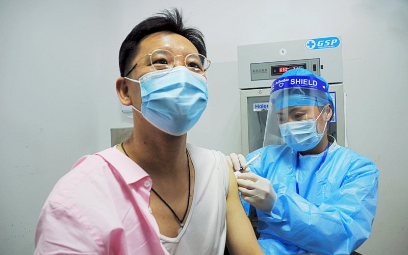 上海免費為台灣人施打疫苗 有人仍盼接種輝瑞