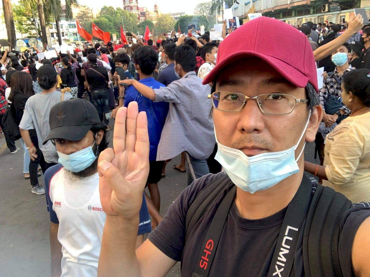新聞自由日 緬甸以假新聞法起訴日本記者