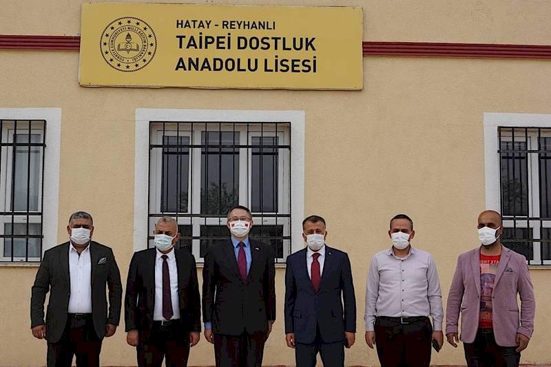 駐土耳其代表黃志揚 訪土敘邊境台灣中心